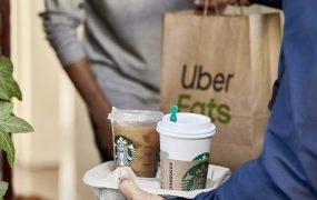 Uber and Starbucks