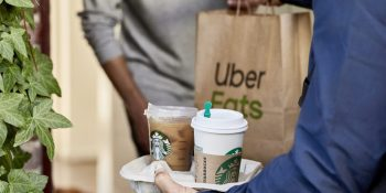 Uber and Starbucks