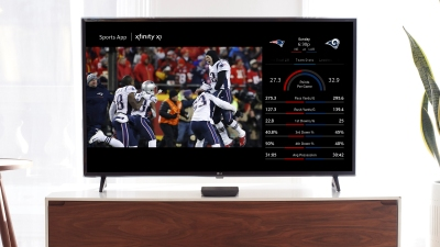 Comcast Xfinity X1 will let customers pull up Super Bowl stats with