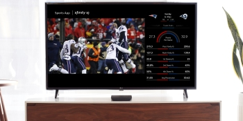 Comcast Xfinity X1 will let customers pull up Super Bowl stats with voice