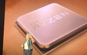 Lisa Su shows Ryzen 3