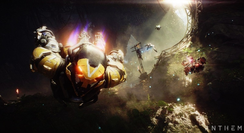 Anthem's Javelin exosuits will get you off the ground.