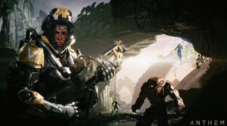 Anthem is a four-player shooter game from BioWare and EA.