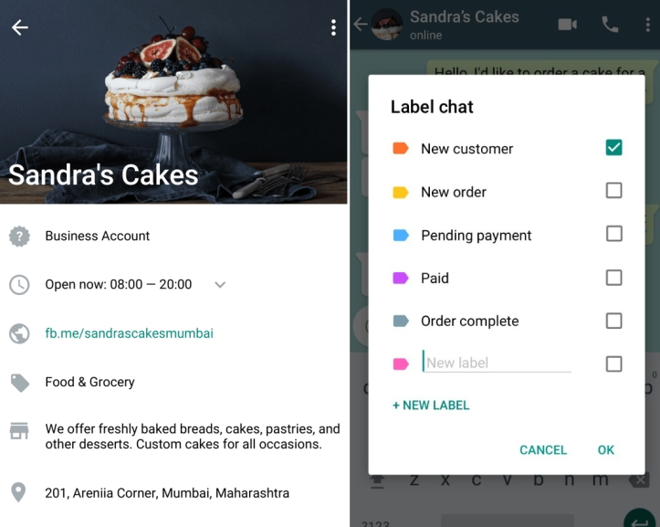 WhatsApp Business brings quick replies, labels, and chat list filtering to desktop and the web   VentureBeat
