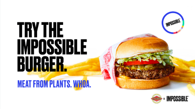 Impossible Foods will sell its improved meatless burger at