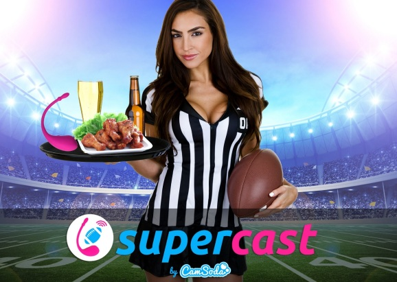 CamSoda's SuperCast will fuse the Super Bowl with sex toys.
