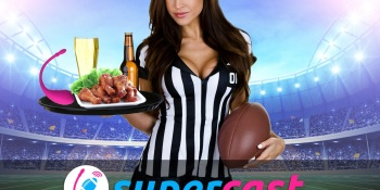 Camsoda's SuperCast mixes the Super Bowl with sex toys