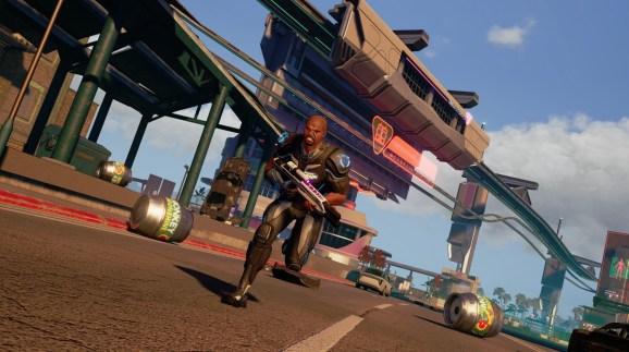 Crackdown 3 lets you roam the city as an agent of destruction.