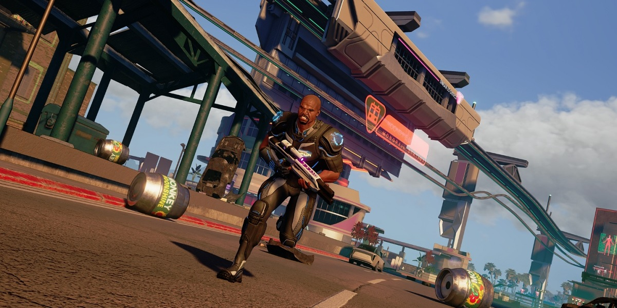 Crackdown 3 lets you roam the city as an agent of destruction.