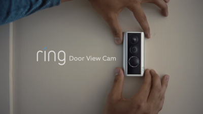 Amazon's Ring unveils Door View Cam for peephole video and