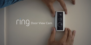 Amazon's Ring unveils Door View Cam for peephole video and smart outdoor lighting