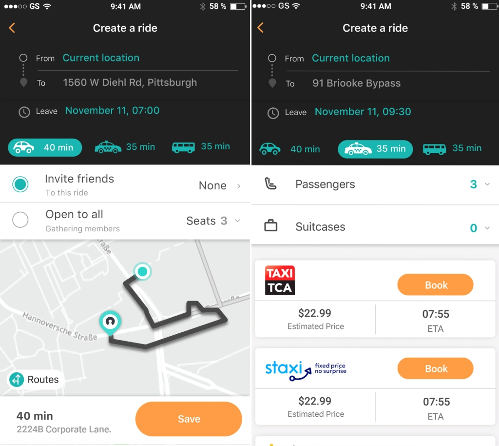 Here launches SoMo, a social transport app for planning and
