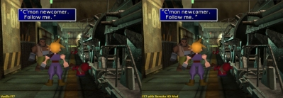 Final Fantasy VII HD graphics mod makes backgrounds less