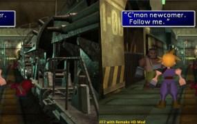 FF7 Remako HD Graphics Mod