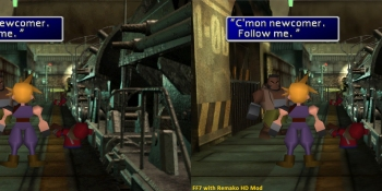 Final Fantasy VII HD graphics mod makes backgrounds less blurry with machine learning