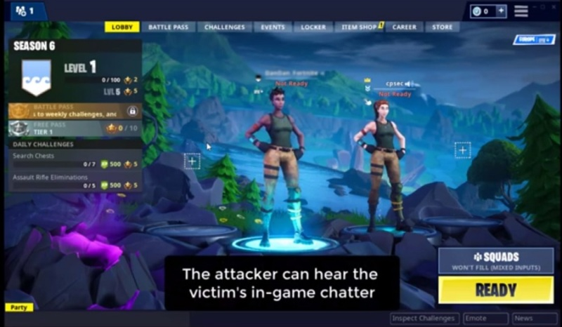 Hackers have figured out a way to hack Fortnite accounts.