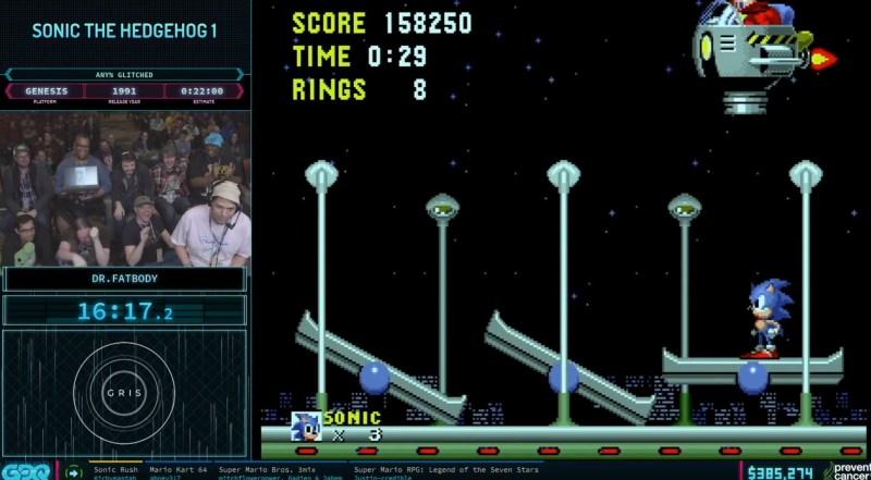 The RetroBeat: This Sonic the Hedgehog speedrun at Games