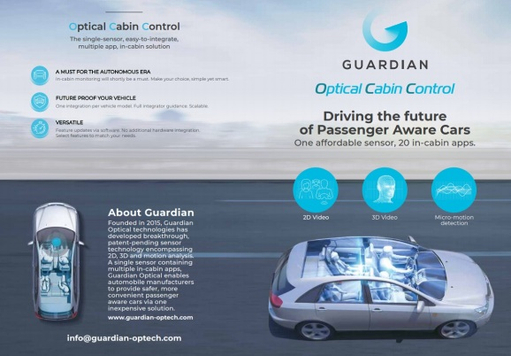 Guardian Optical Technologies can detect passengers in cars.