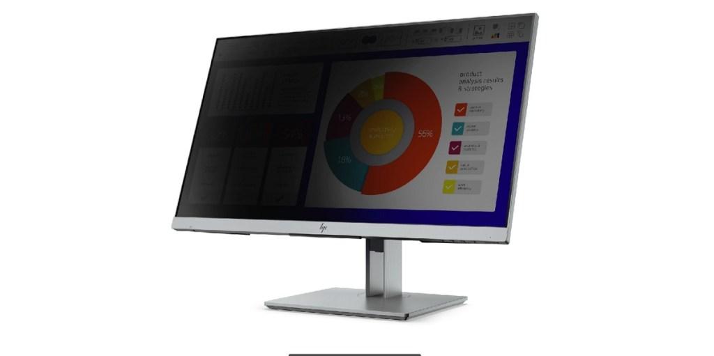 HP EliteDisplay E243p Sure View Monitor.