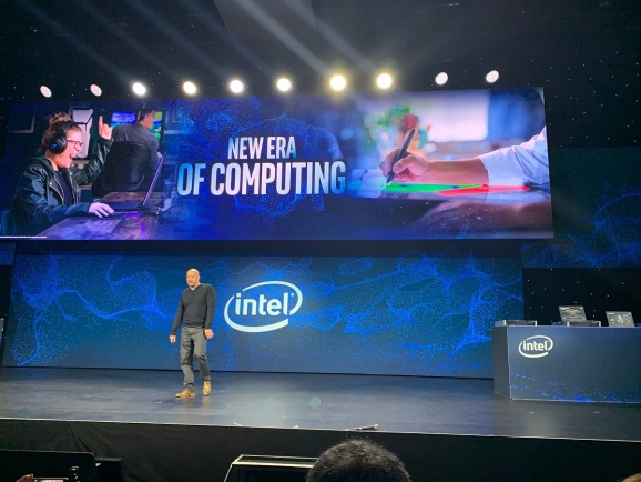 Intel's client computing chief Gregory Bryant.