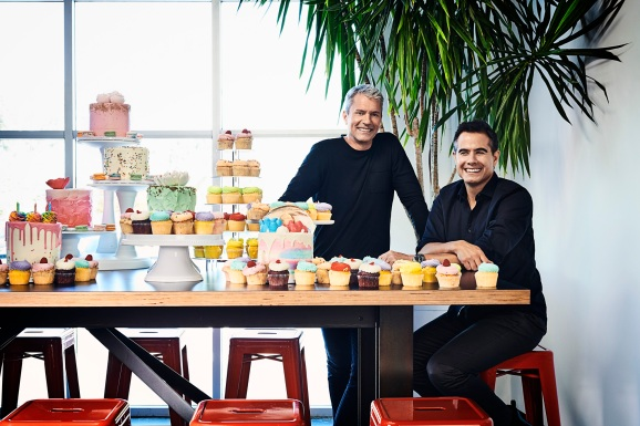 Chris DeWolfe (left) and Josh Yguado are the cofounders of Jam City.