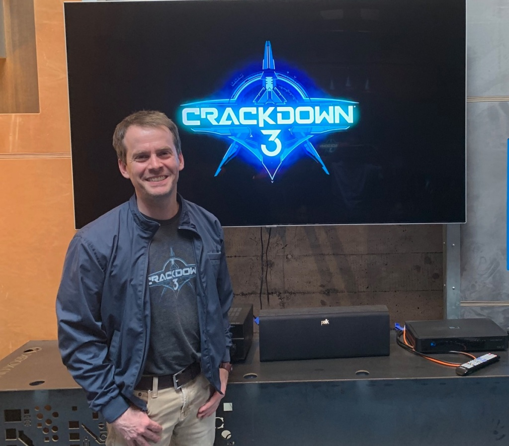Joe Staten, creative director at Microsoft on Crackdown 3.