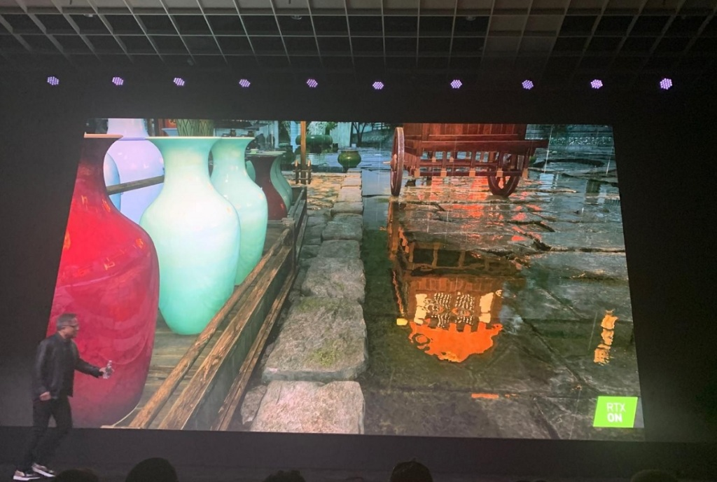 Justice, a game in the works in China, shows off RTX.