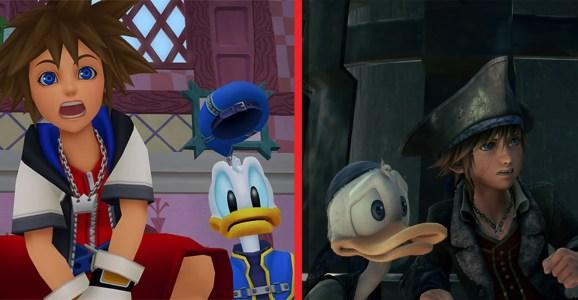 Kingdom Hearts and Kingdom Hearts III.