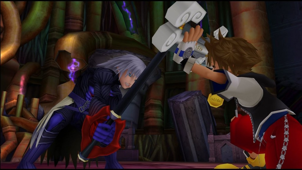 Crazy shit went down in Hollow Bastion in the first Kingdom Hearts.