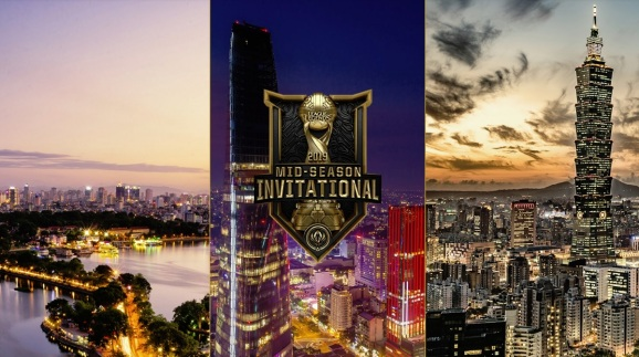 Riot Games will host its League of Legends mid-season invitational in three Asian cities.