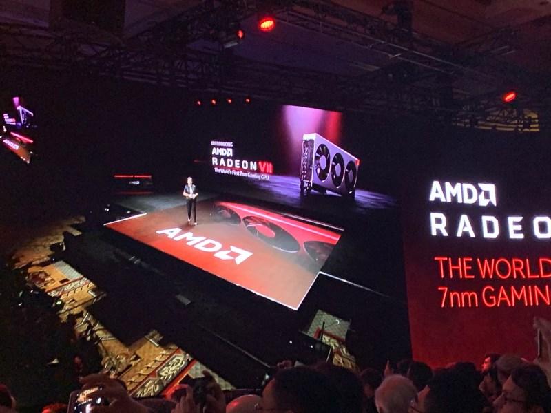 Radeon VII announcement at CES 2019