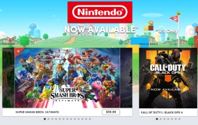 Nintendo games on The Humble Store.