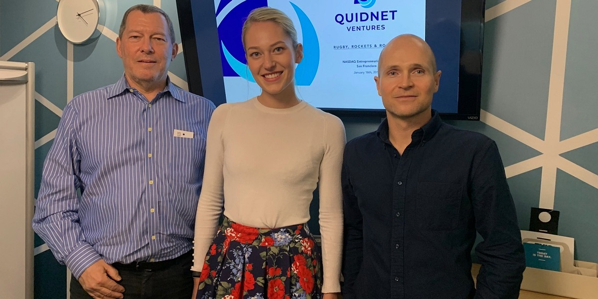 The founders of Quidnet Ventures (left to right): Mark Bregman,