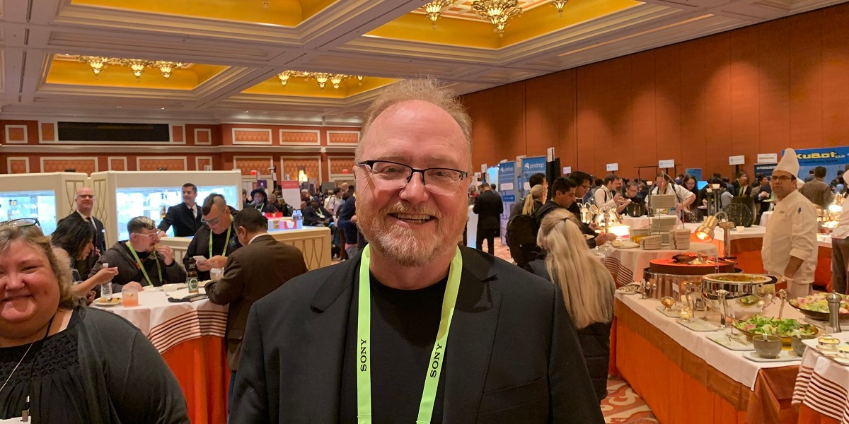 Phil McKinney of CableLabs at CES 2019.