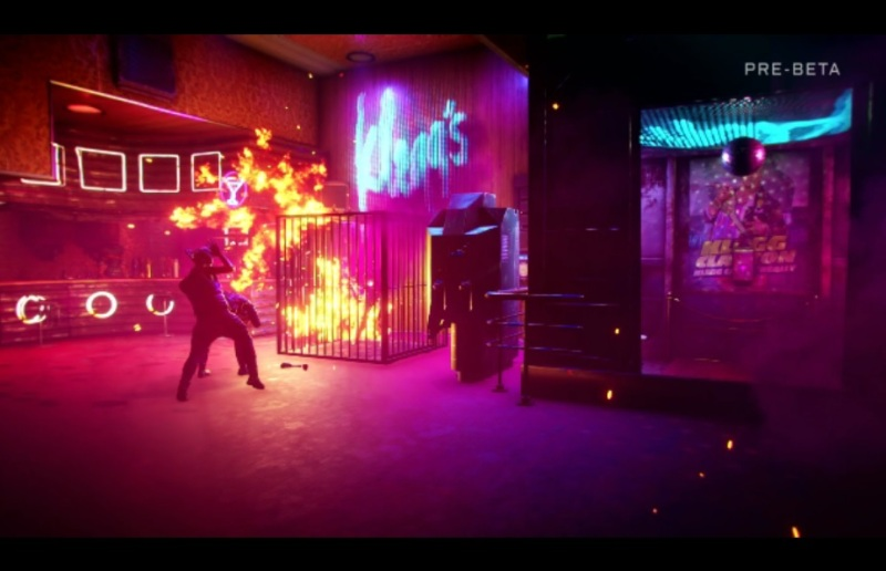 Somebody is burning and screaming in Rage 2.