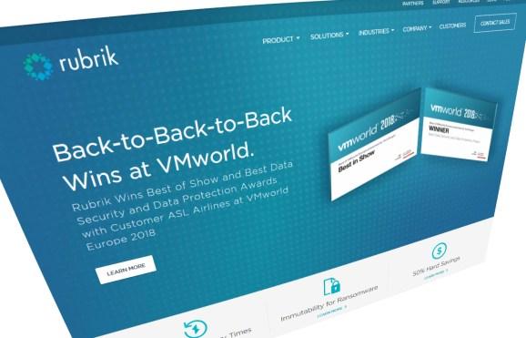Rubrik homepage