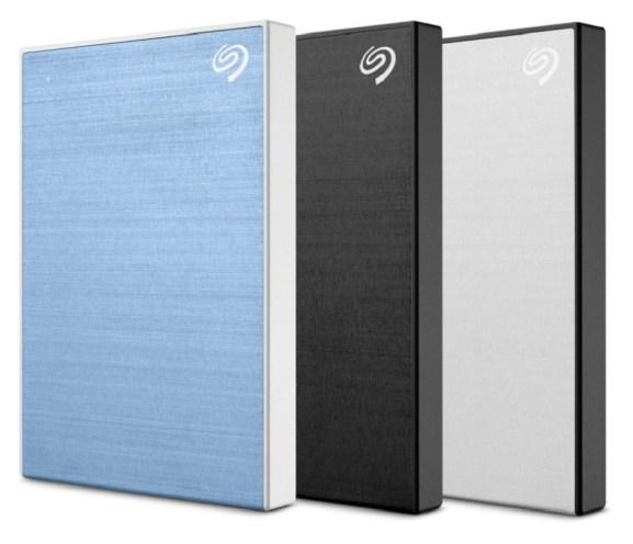 Seagate's latest Backup Plus drives.