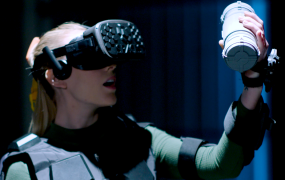 Spaces has created a more tactile version of virtual reality.