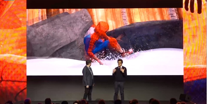 Sony filmmakers Chris Miller and Lord.