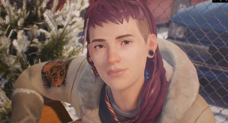 A new character in Life is Strange 2 Episode 2.