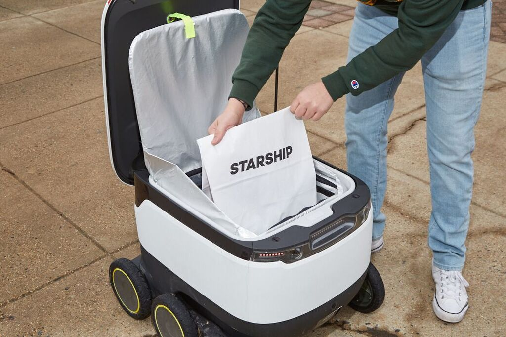 Starship Technologies Rolls Out Delivery Robots to Northern Arizona University's Flagstaff Campus