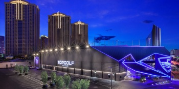 Topgolf Las Vegas has added an esports lounge.