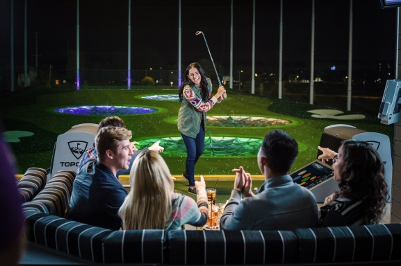 Topgolf aims for a broad audience.
