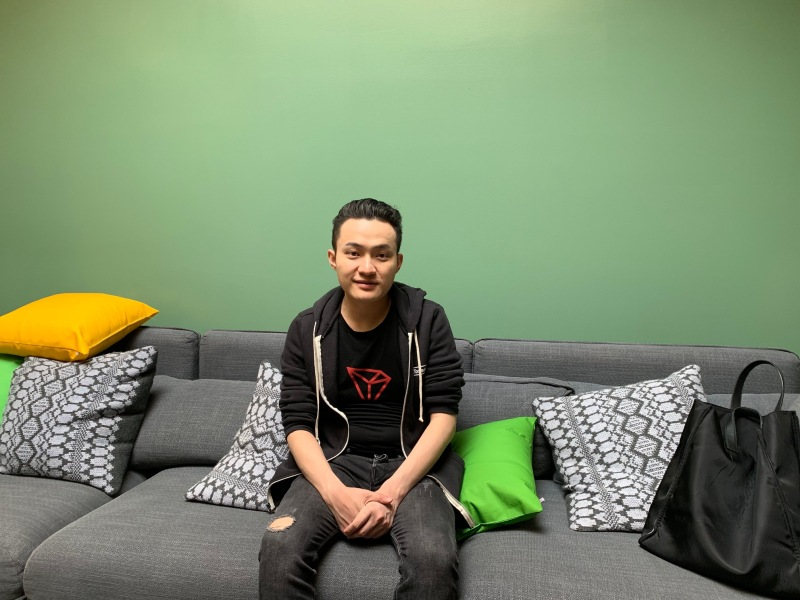 Justin Sun is the founder of Tron. He also started Peiwo