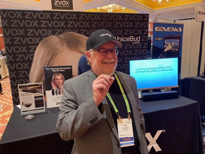 Tom Hannaher is founder of Zvox Audio.