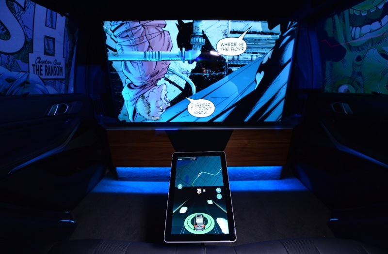 Intel and Warner Bros  show off Batman experience for self-driving