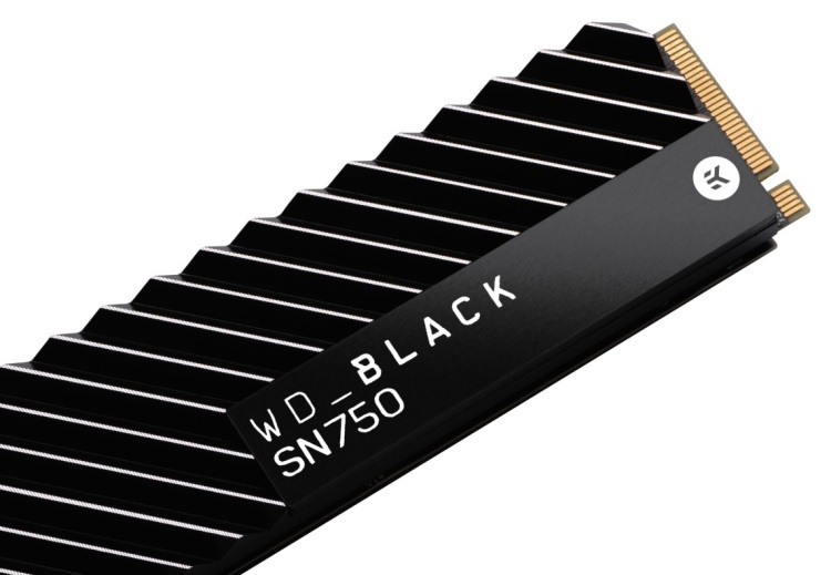 WD's new WD Black SN750 NVMe SSD is aimed at gamers.