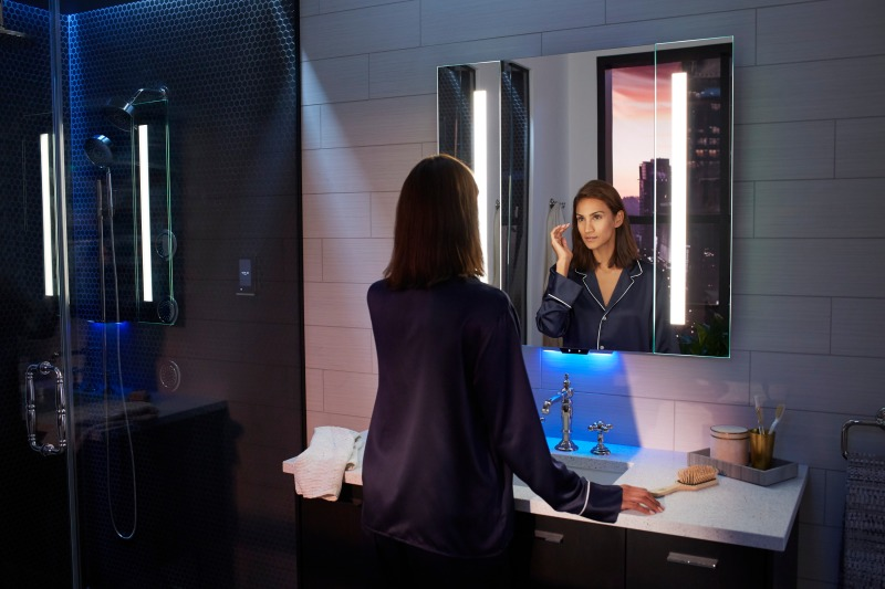 Kohler Reveals New Lighted Mirror Intelligent Toilet