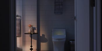 Kohler reveals new lighted mirror, intelligent toilet, touchless faucet, and more