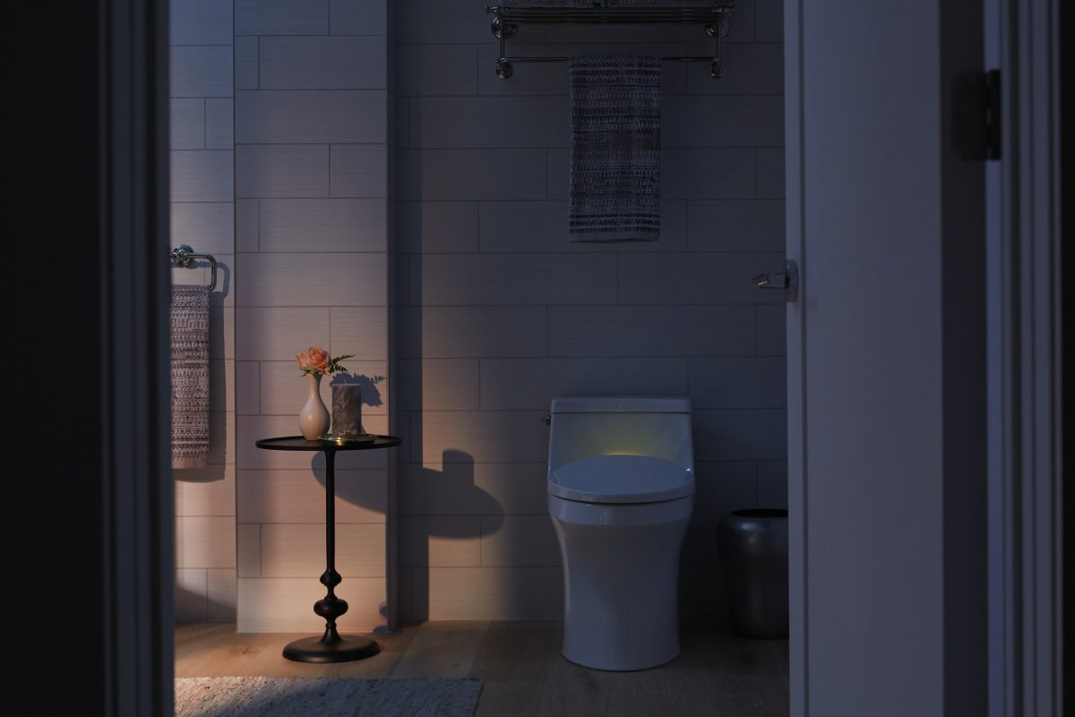 Pleasant Kohler Reveals New Lighted Mirror Intelligent Toilet Camellatalisay Diy Chair Ideas Camellatalisaycom